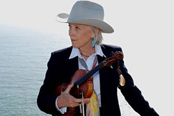FIDDLE CHAMP:  Bluegrass queen Laurie Lewis & Right Hands play Castoro Cellars Winery on May 7. - PHOTO COURTESY OF LAURIE LEWIS