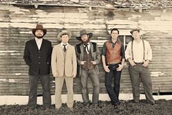 FOOT STOMPERS:  Red Dirt country act the Turnpike Troubadours (pictured) play the Fremont Theater on April 29, with Jason Boland and the Stragglers. - PHOTO COURTESY OF THE TURNPIKE TROUBADOURS