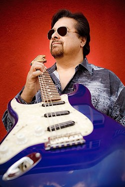 DEEP BLUES:  The SLO Blues Society presents iconic blues guitarist Coco Montoya on Jan. 23 at 8 p.m. at the SLO Vets Hall (tickets at the door). - PHOTO COURTESY OF COCO MONTOYA
