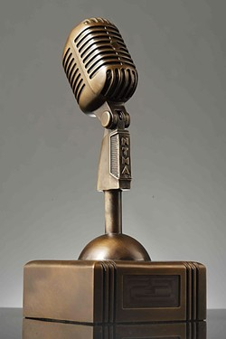 WIN ME!:  Enter the New Times Music Awards July 28 through Aug. 22 to win one of these bronze Newties! - FILE PHOTO