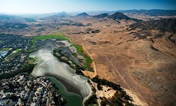 WHERE'D THE WATER GO?:  Brittany App is creating a documentary, 'Where There Once Was Water,' about the ongoing California drought. - PHOTO COURTESY OF BRITTANY APP