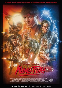 EXTREME NOSTALGIA:  'Kung Fury' packs in nods to just about every 1980s action movie ever made, and does it in a little more than 30 minutes. - LASER UNICORNS LAMPREY PRODCTIONS