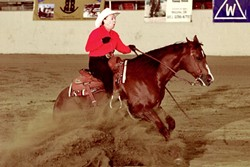FOREVER YOUNG:  At 79 years old, Pat Roberts is still showing and riding horses. - PHOTO COURTESY OF PAT ROBERTS