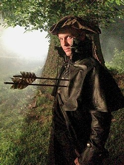 COLD BLOODED KILLER:  Ryan Gray takes a few arrows to the heart while playing an assassin on the television show Sleepy Hollow. - PHOTO COURTESY OF RYAN GRAY