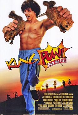 HIGH KICKING, LOW BROW:  Steve Oedekerk's 'Kung Pow! Enter The Fist' is a hidden gem for fans of lowbrow/stupid/off-beat comedies. - COURTESY OF 20TH CENTURY FOX