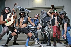 VIVA METALACHI!:  Mariachi and metal mash-up act Metalachi plays Tap It Brewing Co. on June 17. - PHOTO COURTESY OF METALACHI