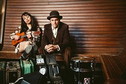 AMERICANA TREASURES :  Amazing folk duo Mike + Ruthy play two SLOfolks shows this week, April 15 at Coalesce Bookstore, and April 16 at Castoro Cellars. - PHOTO COURTESY OF MIKE + RUTHY