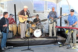 DOUBLE D'ANBINO:  The Mystery Brothers play an album release party on Feb. 27 at D'Anbino Cellars, where they recorded the album they're releasing. - PHOTO COURTESY OF THE MYSTERY BROTHERS
