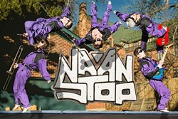 ROCKIN' REGGAE:  Colorado-based reggae-rock band Na'an Stop plays Frog and Peach on May 10. - PHOTO COURTESY OF NA'AN STOP