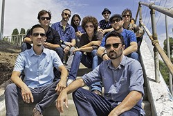 GET FIRED UP!:  LA funk act Jungle Fire headlines the KCBX Holiday Funk & Folk Fest on Dec. 10 at the Fremont Theater. - PHOTO COURTESY OF JUNGLE FIRE