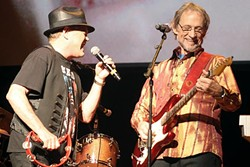 LAST TRAIN TO CLARKSVILLE:  Two of the original members of The Monkees (Micky Dolenz, left, and Peter Tork) play Vina Robles Amphitheatre on Oct. 22. - PHOTO COURTESY OF THE MONKEES