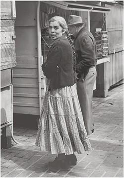 'Chicana Entrepreneur' by Joe Schwartz. - PHOTO COURTESY OF THE SAN LUIS OBISPO MUSEUM OF ART