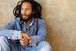 JAMAICA'S SON:  Ziggy Marley brings his socially conscious reggae sounds to the Vina Robles Amphitheatre on Aug. 12. - PHOTO COURTESY OF ZIGGY MARLEY
