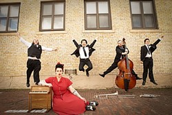 THAT VOICE :  Davina & The Vagabonds will swing by SLO Brew Sept. 14, on their way to the Monterey Jazz Festival. - PHOTO COURTESY OF DAVINA & THE VAGABONDS