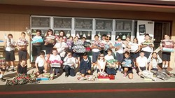 GIFTING:  Camille Zumbro's fifth-grade class from St. Patrick Catholic School in Arroyo Grande enjoyed purchasing gifts with their hard-earned money to spread Christmas cheer. - PHOTO COURTESY OF CAMILLE ZUMBRO