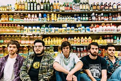 CONDIMENT CREW:  Dante Elephante is one of several acts playing at The Shabang!, a college-centric music festival on Oct. 1 at Laguna Lake Park. - PHOTO COURTESY OF DANTE ELEPHANTE