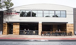 1-2-3-4!:  Libertine Brewing Company's second location at 1234 Broad St. is offering up to 76 taps of awesome brews, fine wine, kombucha, cold brew coffee, apps, lunch entrees, and dinner options. A third Buellton location is slated to open next year. - PHOTO BY JAYSON MELLOM
