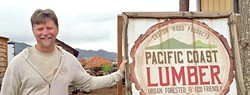 CRAFT:  Switching gears from a software engineer to running a lumber mill, Sean O'Brien is content working in conjunction with his local community. - PHOTO COURTESY OF PACIFIC COAST LUMBER