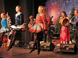 CANDY IN MY HEELS :  If bagpipes, fiddles, and traditional Celtic dancing gets your blood pumping, you might want to catch Molly's Revenge with vocalist Christa Burch and the Turco Irish Dancers this Dec. 16 at the South Bay Community Center in Los Osos. - PHOTO COURTESY OF STUART MASON