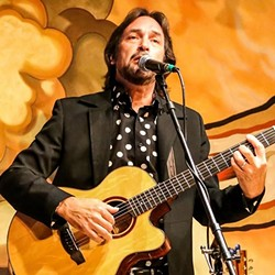 CHANNELING DONOVAN:  Tim Pacheco is one of a dozen artists playing the Songwriters at Play Donovan tribute show on March 18 at the Steynberg Gallery. - PHOTO BY CARL ADAMS