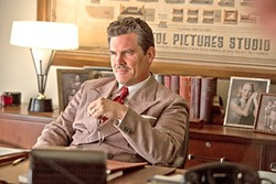 THE FIXER:  In his third collaboration with famed directors the Coen Brothers after his star turn in 'No Country for Old Men' and his role in the remake of 'True Grit,' Josh Brolin played Eddie Mannix in the '50s-era Hollywood homage 'Hail, Caesar!' - PHOTO COURTESY OF DENTSU, MIKE ZOSS PRODUCTIONS,AND WORKING TITLE FILMS