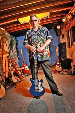 STILL ROCKIN'! :  To celebrate his long-running TV show The Tiki Lounge, Merrell Fankhauser and Friends recently released Tiki Lounge Live, a CD of songs performed on the show. - PHOTO BY LUIS ESCOBAR