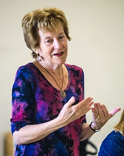 LONG-TIME ADVOCATE :  Kathleen Bellefontaine served as the chairperson for the SLO County Commission on Aging for nearly 10 years. - PHOTO BY JAYSON MELLOM
