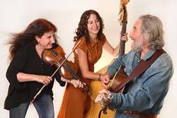 SOUTHERN FUN:  The Red Barn Community Music Series presents southern roots music proponents Thompsonia on Oct. 8. - PHOTO BY IRENE YOUNG