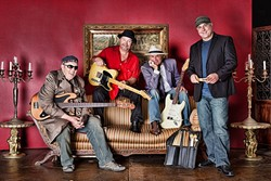 SAY GOODBYE:  Soul Sauce, a terrific local quartet, is calling it quits at the end of the year, but you can see them Nov. 26, at Cambria Pines Lodge. - PHOTO COURTESY OF SOUL SAUCE