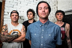 PUNKS ON PARADE :  Unwritten Law (pictured) and opening act The Ataris play Sweet Sprigs Saloon on Aug. 14. - PHOTO COURTESY OF UNWRITTEN LAW