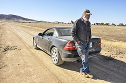 SICK OF IT:  California Valley resident John Wilson is tired of watching the area's community services district's board members bickering among themselves. - PHOTO BY CAMILLIA LANHAM