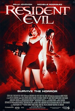 MONEY MONSTERS :  2002's Resident Evil kicked off a six-film franchise that's grossed more than $1 billion. - PHOTO COURTESY OF SCREEN GEMS