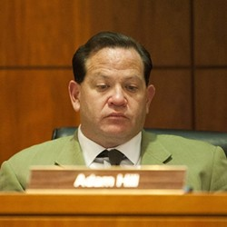 'YOU GET WHAT YOU SUPPORT':  In recent emails obtained by New Times, SLO County 3rd District Supervisor Adam Hill slammed local businesses for failing to financially support candidates, including himself. - FILE PHOTO BY STEVE E. MILLER