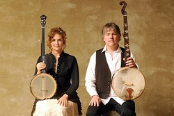 AMERICANA ROYALTY :  Abigail Washburn and Béla Fleck bring their dueling banjos to the PAC on March 19. - PHOTO COURTESY OF BELA FLECK AND ABIGAIL WASHBURN