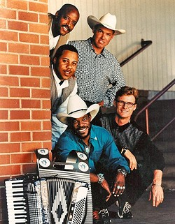 BOSS OF THE HOT SAUCE:  The SLO Jazz Festival's 2016 Fall Fest continues on Oct. 15, when Zydeco Flames plays Templeton's Wild Horse Winery. - PHOTO COURTESY OF ZYDECO FLAMES