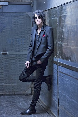 LOVE STINKS:  Peter Wolf (pictured), former J. Geils frontman, opens for the Steve Miller Band on Aug. 14 at the Vina Robles Amphitheatre. - PHOTO BY JOE GREENE