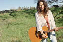 SONGBIRD:  Sacramento-based singer-songwriter Sandra Dolores Swanfeldt plays three Songwriters at Play showcases: Aug. 7 at Sculpterra and Aug. 8 and 15 at Otter Rock Café. - PHOTO COURTESY OF SANDRA DOLORES SWANFELDT