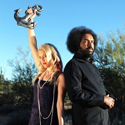 DYNAMIC DUO :  Indie folk act Whitherward (Ashley E. Norton and Edward A. Williams) brings their eclectic sounds to the Morro Bay Wine Seller on Feb. 17. - PHOTO COURTESY OF WHITHERWARD