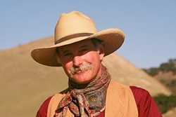 HE'S GOT A STORY FOR YOU:  Award-winning Western singer-songwriter and raconteur Dave Stamey performs Jan. 6, in Morro Bay's Coalesce Bookstore. - PHOTO COURTESY OF DAVE STAMEY