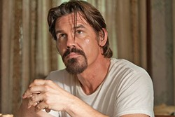 DESPERADO IN LOVE:  In 'Labor Day,' a depressed single mother falls for a wounded and escaped convict played by Josh Brolin. - PHOTO COURTESY OF INDIAN PAINTBRUSH AND RIGHT OF WAY FILMS