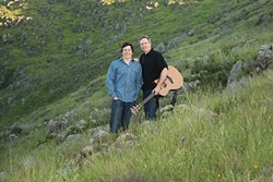END OF THE ROAD?:  Father-and-son Irish duo Young Ireland has scheduled two final fundraising concerts before the junior O'Hara heads to college. See them March 12, at the SLO Little Theatre; and March 18, at the Pewter Plough Playhouse. - PHOTO COURTESY OF YOUNG IRELAND