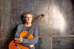 GLOBAL GUITAR SENSATION:  Jesse Cook brings his world music guitar wizardry to the Fremont Theater on Jan. 19. - PHOTO COURTESY OF JESSE COOK