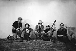 AMERICANA STRINGS:  The Red Barn Community Music Series presents Moonsville Collective and their old timey sounds on Jan. 14 in Los Osos' Red Barn. - PHOTO COURTESY OF MOONSVILLE COLLECTIVE