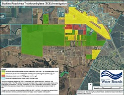 SEARCHING FOR ANSWERS:  Investigators are still trying to find the source of a TCE contamination in some wells in the Buckley Road area. - PHOTO COURTESY OF THE CENTRAL COAST REGIONAL WATER QAULITY BOARD
