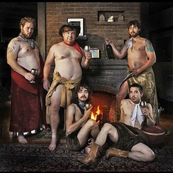 MAN-HERD:  The Kyle Gass Band, featuring members of Tenacious D, plays SLO Brew on Nov. 25. - PHOTO COURTESY OF THE KYLE GASS BAND