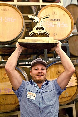 "GO BOLDLY FORTH:  A young winemaker with a yearning to ""tell a story"" in each bottle, Bret Urness of Levo Wines represents a new crop of outside-the-box producers. - PHOTO COURTESY OF GARAGISTE FESTIVAL"