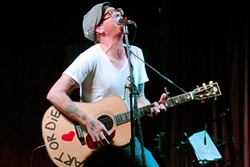 TWANG N BANG 11!:  Two Cow Garage frontman Micah Schnabel is one of 20 performers appearing at Twang N Bang XI on Sept. 4 at Frog and Peach. - PHOTO COURTESY OF MICAH SCHNABEL