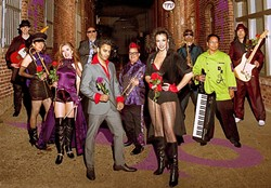 PRINCE-ISH:  Prince Tribute act The Purple Ones plays the Fremont Theater on Oct. 22 as part of the SLO Jazz Festival's 2016 Fall Fest. - PHOTO COURTESY OF THE PURPLE ONE