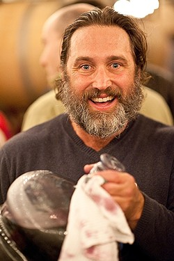 MEET THE GARAGISTES:  Paso Robles winemaker JP French produces just 300 cases a year of his single lot label, JP III, but don't call it a side project. Like more than 50 of his fellow winemakers, he pays painstaking attention to detail; blood, sweat, and tears go into each handcrafted bottle. - PHOTO COURTESY OF GARAGISTE FESTIVAL