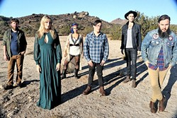 BOO!:  LA's indie-Americana-rock act The Sound of Ghosts plays Last Stage West on Jan. 14. - PHOTO COURTESY OF THE SOUND OF GHOSTS